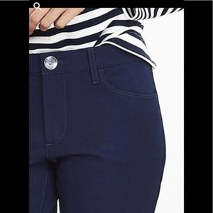 Banana Republic Pants - Banana Republic Navy Midrise Sloan Skinny Pant